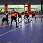 Floorball Face-off