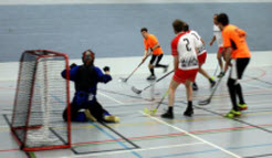 Floorball Traning